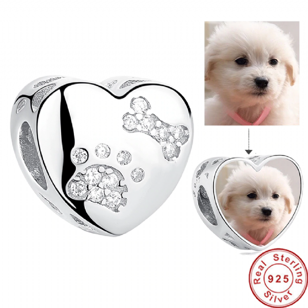 Personalised Pet Photo Charm